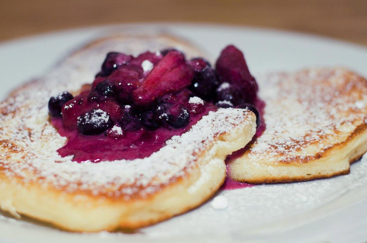 reklamní fotografie jídla dezert