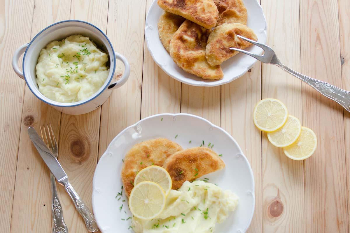 reklamní fotografie jídla řízek